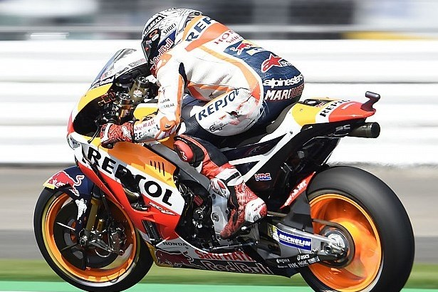 MotoGP British 2017 Марк Маркес Repsol Honda Team